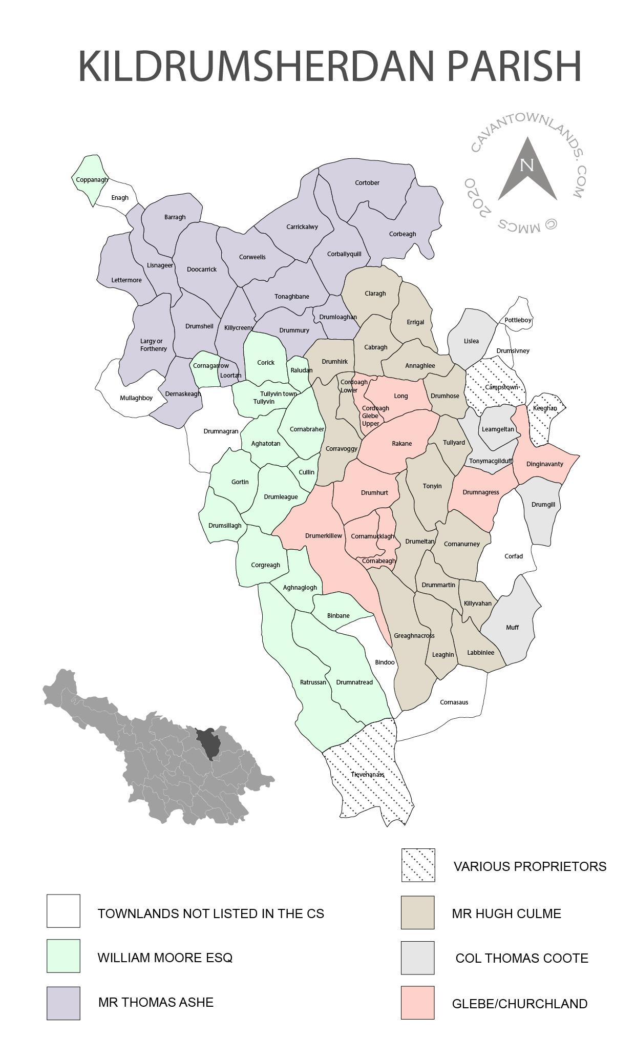 CWS Map East Cavan 2021 for website colour