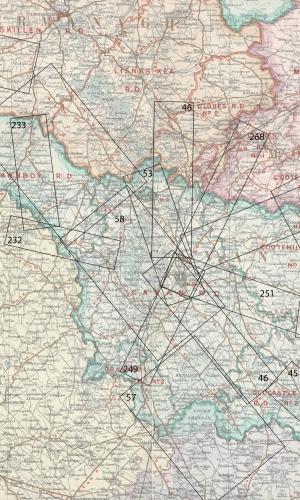 Taylor & Skinner Road maps of Cavan