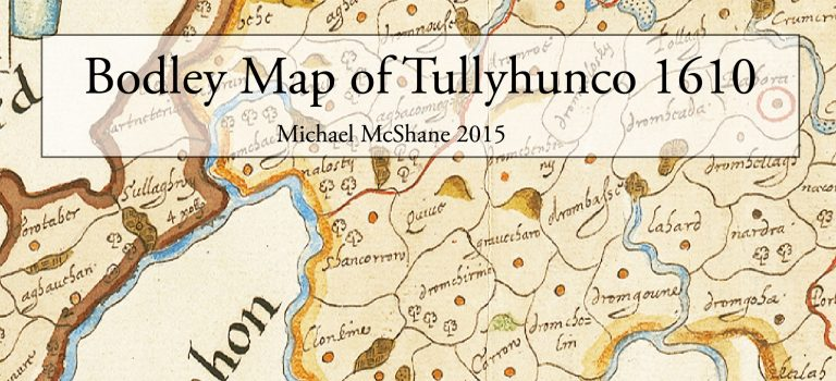 Bodley's map of Tullyhunco 1610