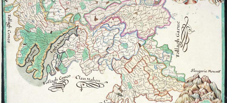 Bodley Maps of the baronies of County Cavan1610