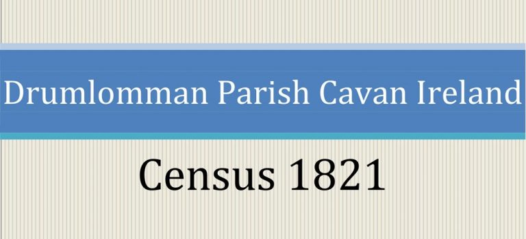 Drumlumman Parish Census 1821